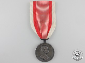 ASilver GradeAustrian Bravery Medal; 2nd Class