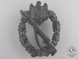 A Silver Grade Infantry Badge by Sohni, Heubach u. Co./ Oberstein