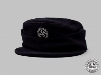 Germany, SS. A Schutzmannschaft Officer's M43-Style Service Cap