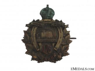 176th Niagara Rangers Cap Badge CEF
