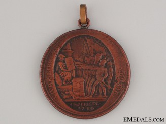 1792 Bastille Day Merchants Token