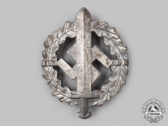 Germany, SA. A Sports Badge, Type III Silver Grade, by Werner Redo