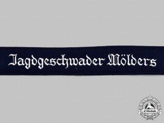Germany, Luftwaffe. A Mint and Unissued Jagdgeschwader Mölders EM/NCO's Cuff Title