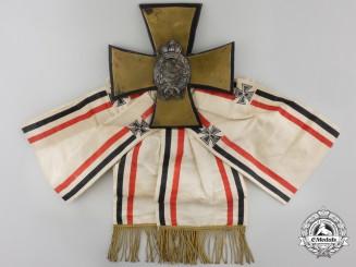 Bavaria, Kingdom. A First War Bavarian Pilot Badge & Sash toVfw.Paul Hoppe