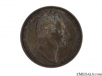 1831 William IV Coronation Medal
