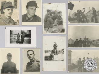 Croatia, Independent State. A Lot of 10 Second War Home Army Photos