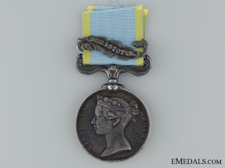 1854-56 Crimea Medal to P. Assolent