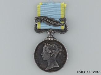1854-56 Crimea Medal to P. Assolent