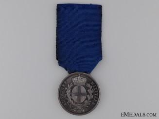 An Italian 1859 Austrian War Al Valore Militare Medal