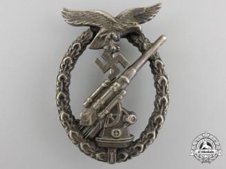 An Early War Period Luftwaffe Flak Badge