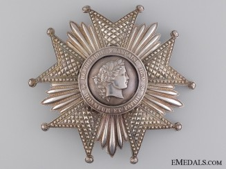 1870-90 French Legion D'Honneur; Grand Cross Star