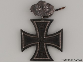 870 Iron Cross- 2nd Class with Oak Leaves '25'