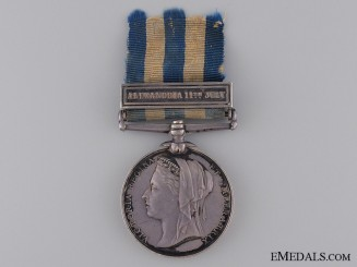 1882 Egypt Medal to the Royal Artillery