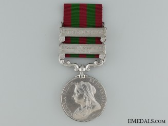 1896 India Medal to the 2nd Battalion