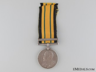 1902-56 Africa General Service Medal to the King's African Rifles