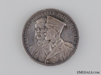 1902 Prince Heinrich of Prussia's Visit to America Medal