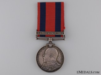 1903 Transport Medal to H. Purvis with South Africa 1889-1902 Clasp
