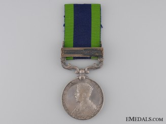 1908-35 India General Service Medal to the Machine Gun Corps