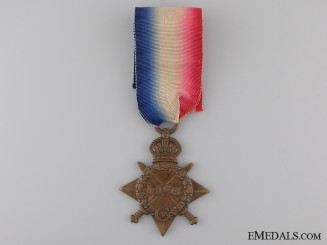A 1914-15 Star to the Sixth Dragoons