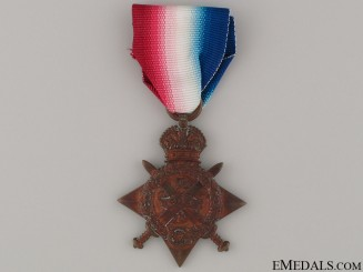 """1914 """"Mons"""" Star"""