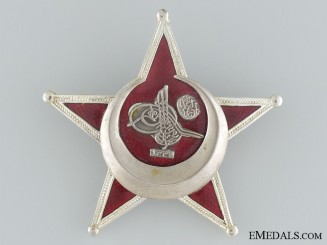 1915 Campaign Star (Iron Crescent) by B.B. & Co