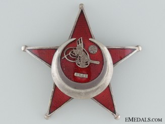 1915 Campaign Star (Iron Crescent) by Godet