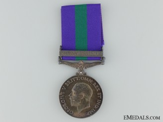 1918-62 General Service Medal for Southern Desert; RAF