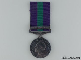 1918-62 General Service Medal to B. Smith