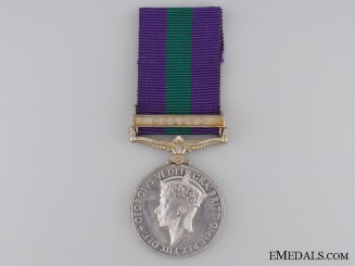 1918-62 General Service Medal to the Green Howards