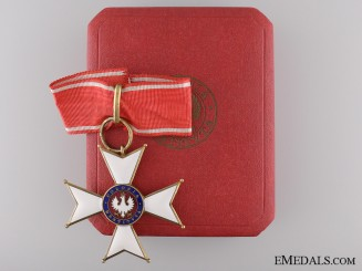 1918 Order of Polonia Restituta; Commander's Cross