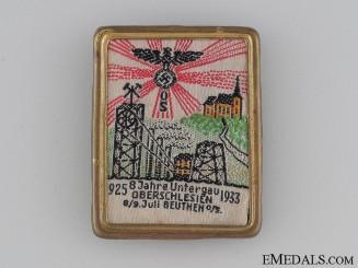 1925-33 Jahre Untergau Oberschlesien Badge