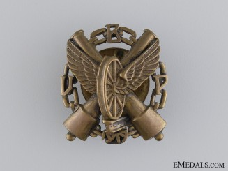 1930 Latvian Armoured Train Regiment Badge