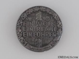 1933 RZM Ein Volk- Ein Reich- Ein Fuhrer Badge