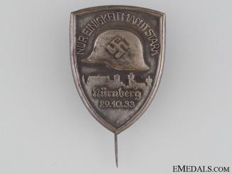 "1933 Stahlhelm ""Unity is Strength"" Tinnie"