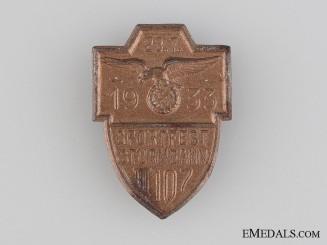 1933 Sturmbann III 107 Sportfest Tinnie