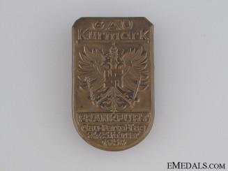 1934 Gau Kurmark Frankfurt Tinnie