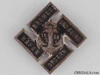 1934 Navy Victims Contribution Tinnie