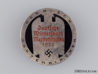 German Winter Sports Championships Badge