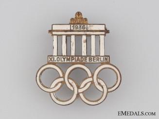 1936 XI Summer Olympic Games Berlin Pin