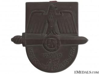 1939-40 Winter War Medical Aid Award Plaque