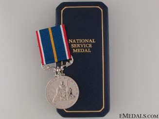 1939-60 National Service Medal
