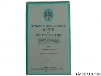 1939 Multi Language DDAC Auto Road Map