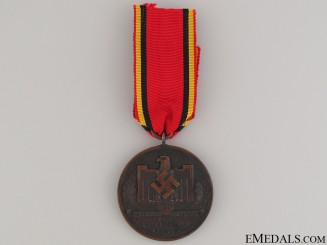 1942 Athletic Medal in Bronze