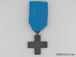 1942 Italian Cross for Military Valour