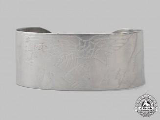 Germany, Luftwaffe. A 1944 Afrikakorps POW's Trench Art Bracelet