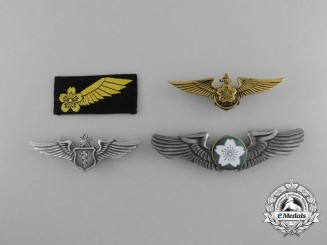 Japan, Constitutional Monarch. An Air Self-Defense Force Badges