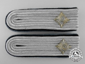 Germany. An Army Administration Oberleutnant's Shoulder Board Pair