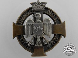 """An """"Durch Not Und Tod"""" Patriotic Badge"""