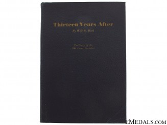 "1st Edition ""Thirteen Years After"" by Will Bird"