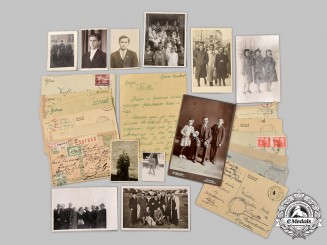 Croatia, Independent State. A Lot of Photographs and Correspondence from a Croatian Luftwaffe Volunteer